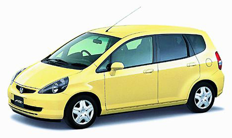 Фото Honda Fit (GD)